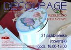 Decoupage Kids – pudełeczko kapeluszowe