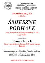 Śmieszne Podhale, czyli o satyrze w prasie galicyjskiej w XIX i XX wieku
