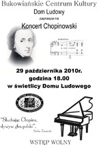 Koncert z okazji Roku Chopinowskiego