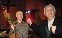 fot. Anna Karpiel-Semberecka - Henryk Mikołaj Górecki podczas koncertu Kronos Quartet w Zakopanem