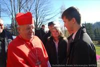 Ojciec Święty Jan Paweł II patronem Szkoły Podstawowej nr 2 w Rzepiskach, Grocholów Potok