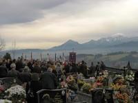 Stanisław Bobak spoczął na cmentarzu w Zębie