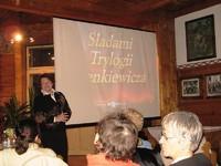 Elżbieta Chodurska poprowadziła ciekawe posiady o wycieczce na Ukrainę