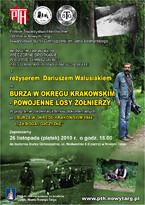 Burza w Okręgu Krakowskim - powojenne losy żołnierzy