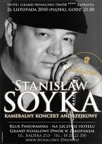 Gwiazdy w Grand Nosalowym Dworze: Stanisław Soyka