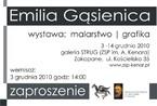 Emilia Gąsienica - Malarstwo i grafika