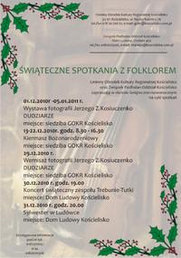 Świąteczne Spotkania z Folklorem