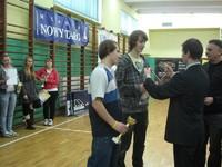 Licealiada Powiatu Nowotarskiego w tenisie stołowym - turniej drużynowy