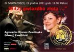 """24 Salon Poezji """"Witaj gwiazdko złota…"""""""