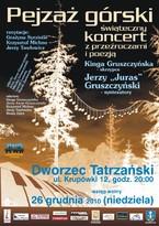 Pejzaż górski - świąteczny koncert z przeźroczami i poezją