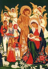 Życzenia od Kardynała z nowotarskim obrazem
