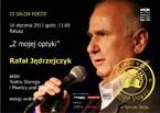 25 salon poezji – Rafał Jędrzejczyk