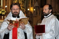 Prawosławne nabożeństwo bożonarodzeniowe w Starym Kościółku