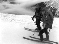 Na nartach na Chopok (2024 m) przez Przełęcz Polany