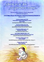 """II Festiwal Kolęd, Pastorałek i Pieśni Bożonarodzeniowych """"Dobrze zes sie Jezu pod Giewontem zrodziył"""""""