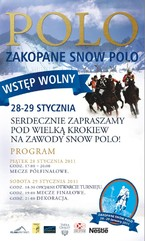 IV Edycja Zakopane Snow Polo