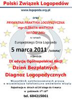 Dzień bezpłatnych diagnoz logopedycznych