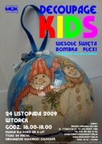 Decoupage Kids - wesołe święta