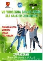 VII Wiosenna Giełda Szkół dla Całkiem Zielonych