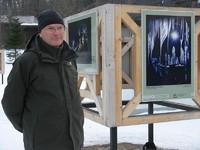 Wystawę otwiera Paweł Skawiński, Dyrektor TPN