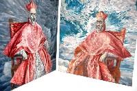Kardynał De Guevara idzie do nieba - wystawa Mirka Sikorskiego