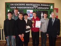 XVI Szachowe Mistrzostwa Szkół Podstawowych i Gimnazjów