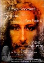 Droga Krzyżowa ze słowem Jana Pawła II