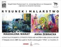 """Magdalena Wanat i Anna Żebracka w galerii """"Strug"""""""