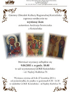 Wystawa ikon autorstwa Andrzeja Ferenczaka