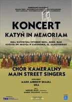 "Koncert ""KATYŃ IN MEMORIAM"""