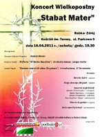 """Koncert wielkopostny """"Stabat Mater"""""""