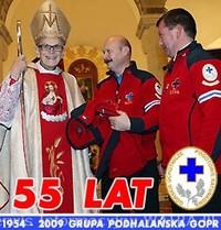 55 lat Podhalańskiej Grupy GOPR