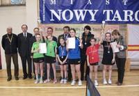 Małopolskie Igrzyska Młodzieży Szkolnej w tenisie stołowym