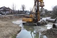 Ruszyła budowa mostu w Ludźmierzu