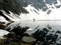 Lustrzane odbicie, gdzieś w Tatrach