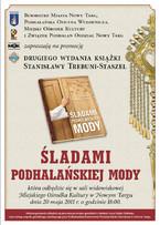 """Promocja książki Stanisławy Trebuni-Staszel """"Śladami Podhalańskiej Mody"""""""