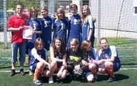 Awans dziewcząt z gimnazjum w Krościenku w Turnieju Piłkarskim Coca-Cola Cup