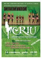 Spektakl zespołu tanecznego Eriu