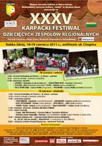 XXXV Karpacki Festiwal Dziecięcych Zespołów Regionalnych