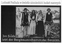 """Wystawa """"Ludność Podhala w świetle niemieckich badań rasowych"""""""