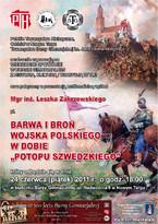 """Barwa i broń wojska polskiego w dobie """"potopu szwedzkiego"""""""