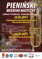 Pieniński weekend muzyczny