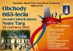 Obchody 665-lecia rocznicy lokacji miasta Nowy Targ
