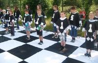 """""""Żywe szachy"""" w Ochotnicy"""