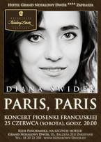 """Koncert piosenki francuskiej """"Paris, Paris"""""""
