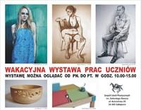 Wakacyjna Wystawa Prac Uczniów ZSP im. A. Kenara