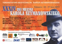 XXXIV Dni Muzyki Karola Szymanowskiego
