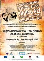 II Międzynarodowy Festiwal Pieśni Chóralnej - Kluszkowce 2011