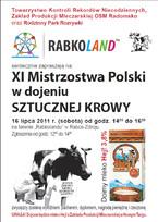 XI Mistrzostwa Polski w Dojeniu Sztucznej Krowy