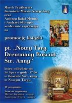 """Promocja książki """"Nowy Targ. Drewniany Kościół Św. Anny"""""""